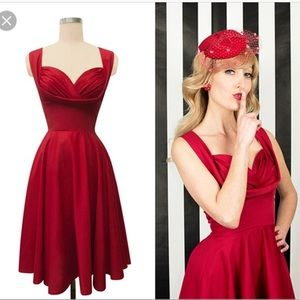 Trashy diva honey dress red size 8